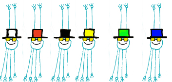 Seis sombreros para pensar