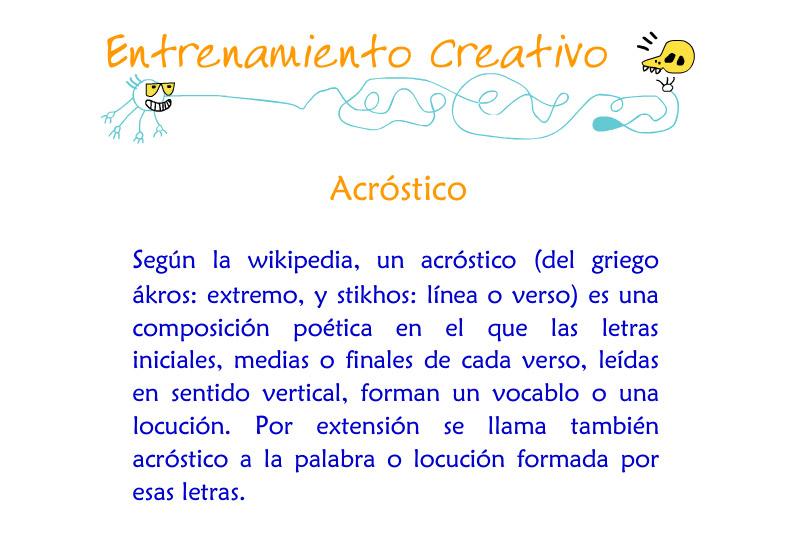 Acrosticos 1