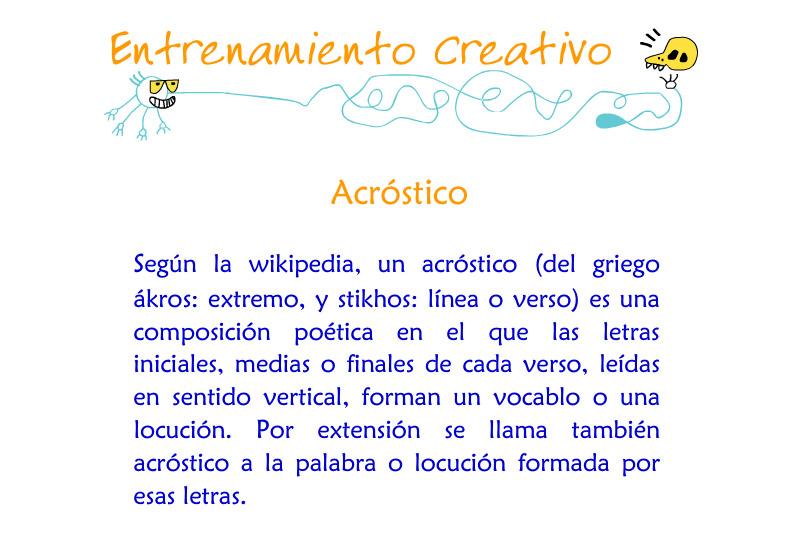 Acrosticos 2