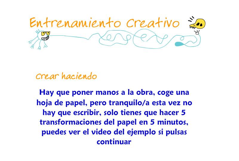 Transforma el papel